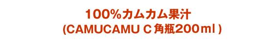 CAMUCAMU C3 角瓶