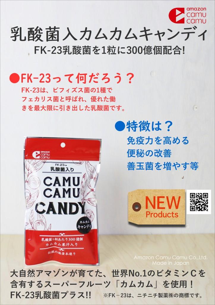 乳酸菌入カムカムキャンディ